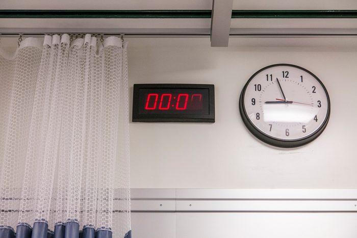 hospital room clocks