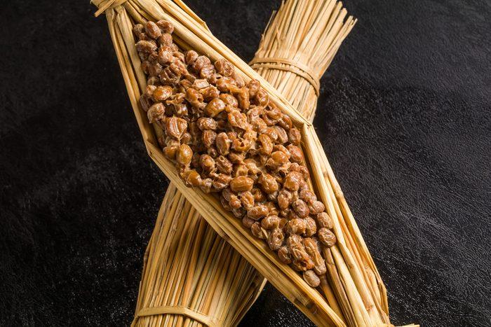 Soybean fermented food (natto)