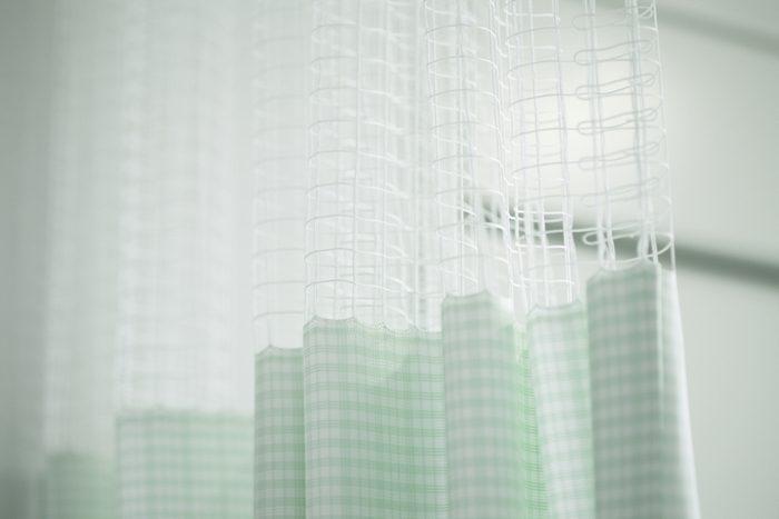 Curtain Of A Hospital Room
