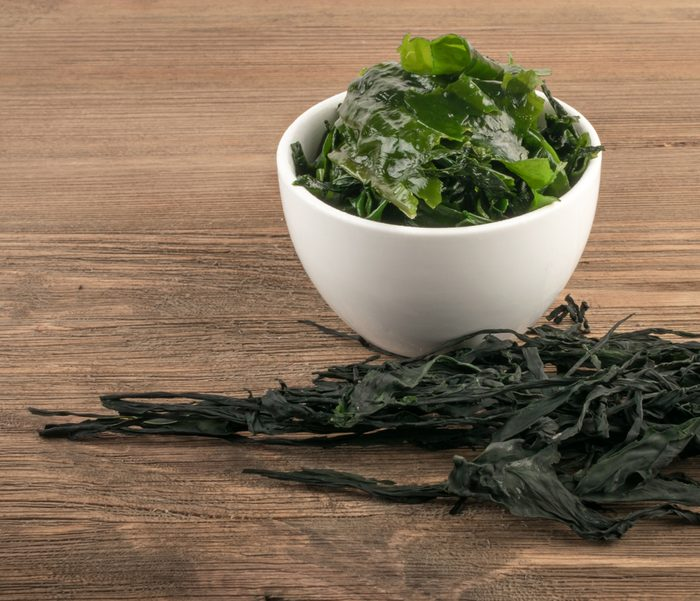 Seaweed in a bowl