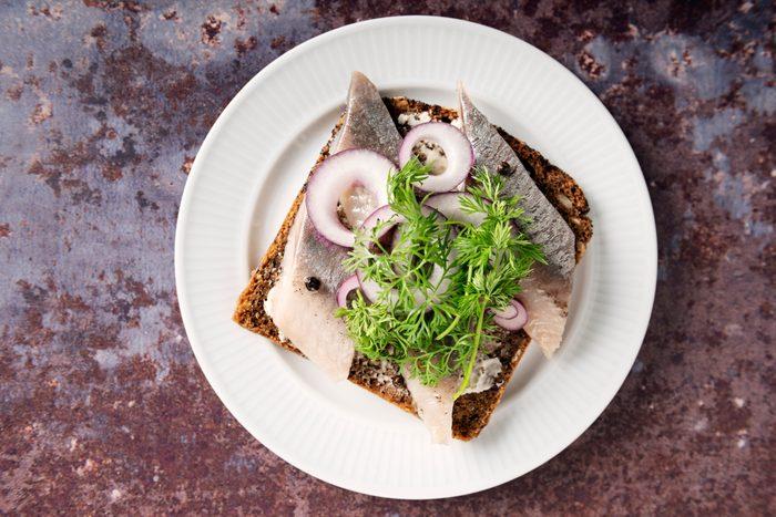 herring sandwich dish