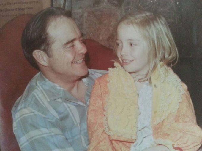 Jim and his daughter