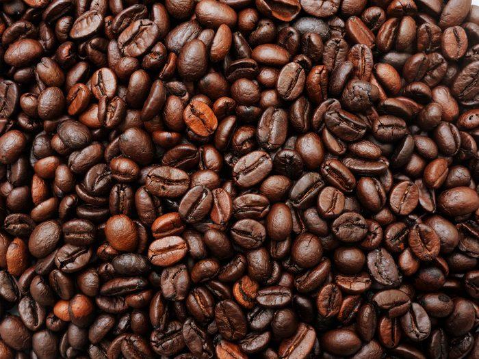 Coffee texture.Coffee background.Coffee beans.Coffee aroma.