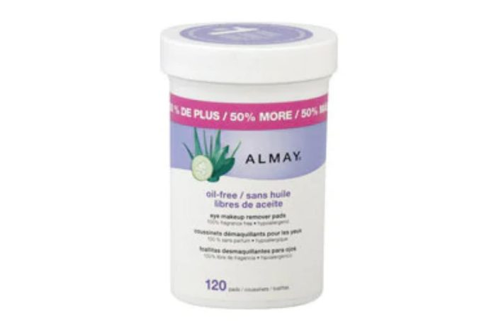 Almay Oil Free Eye Makeup Remover Pads, 120CT