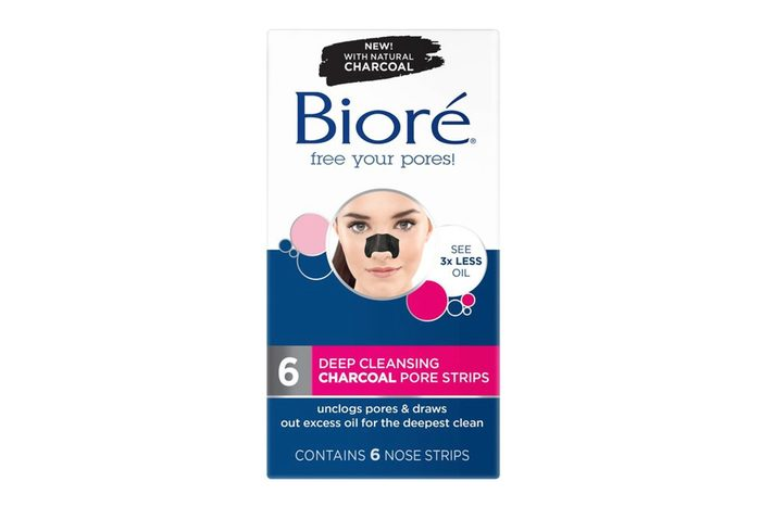 Biore Deep Cleansing Charcoal Strips, 6CT