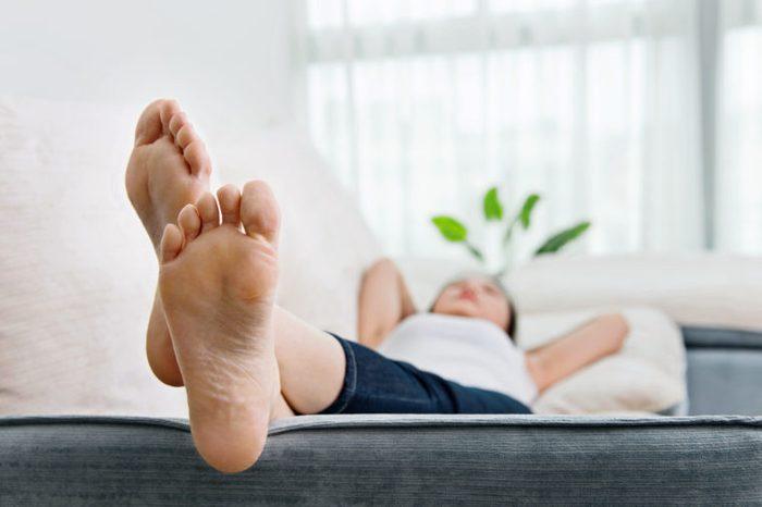bottom of feet