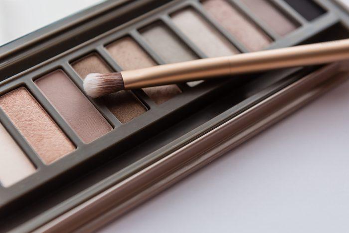 neutral brown eye shadow palette