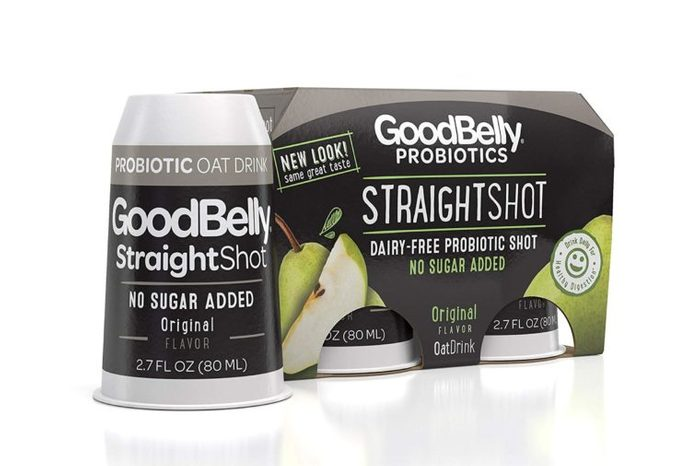 Goodbelly, Probiotic Straight Shot Organic, 2.7 Fl Oz, 4 Pack.