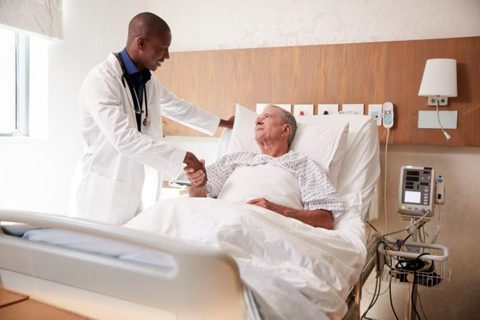 patient and doctor meeting