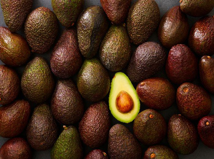 avocados full frame