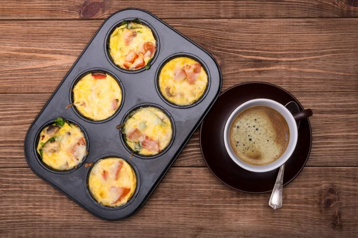 breakfast egg muffin cups for on the go