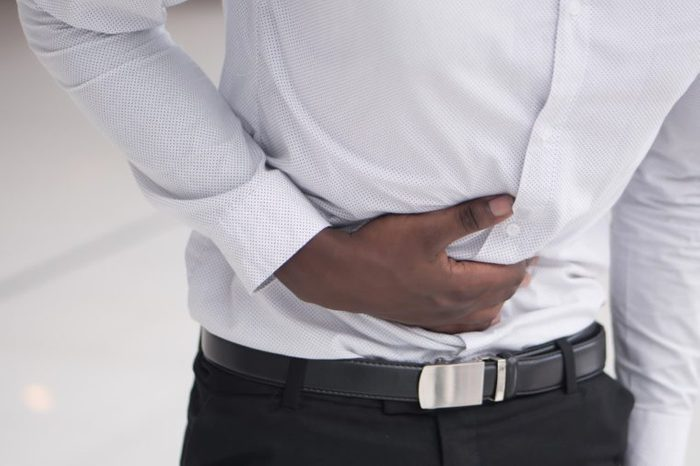stomach pain man