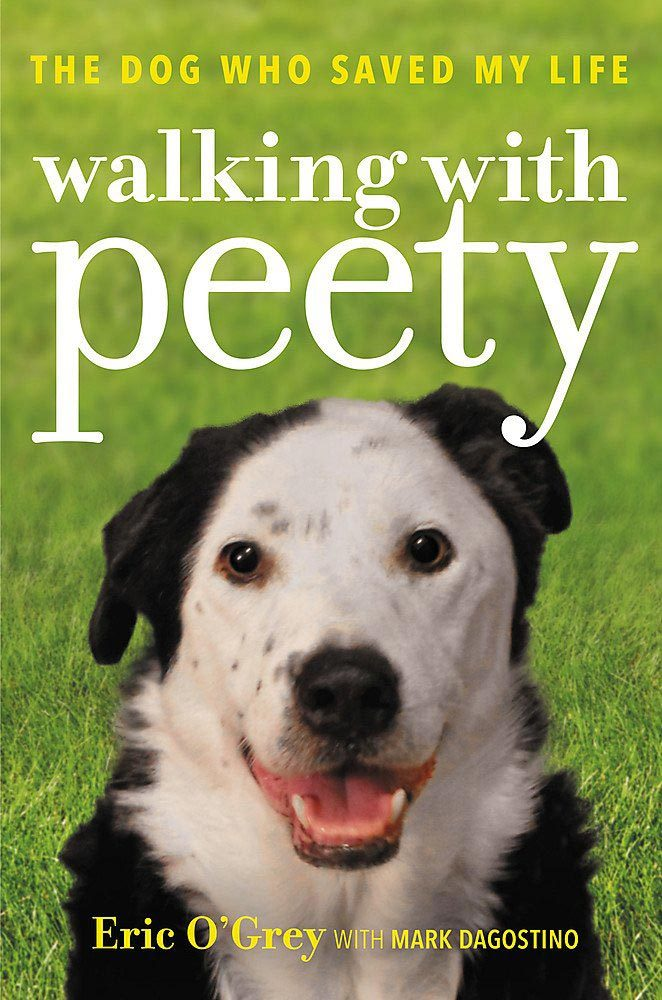 Walking with Peety Book Cover by Eric O'Grey with Mark Dagostino