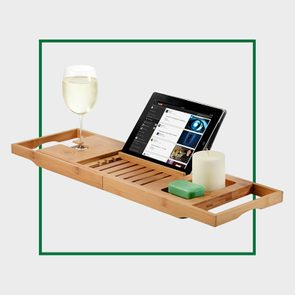 Bamboo Bathtub Tray Caddy