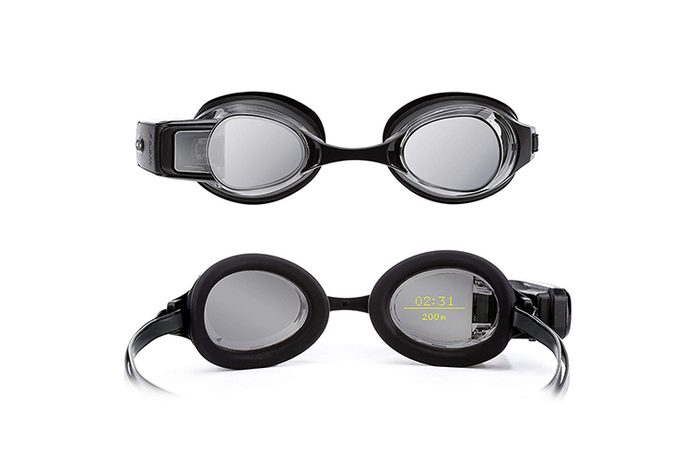 FORM Swim Goggles, Activity Tracker with See-Through Smart Display