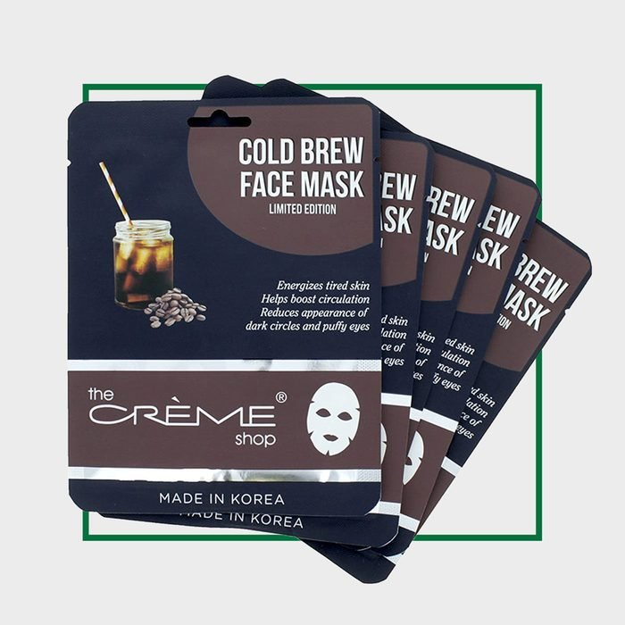 The Creme Shop Cold Brew Face Mask