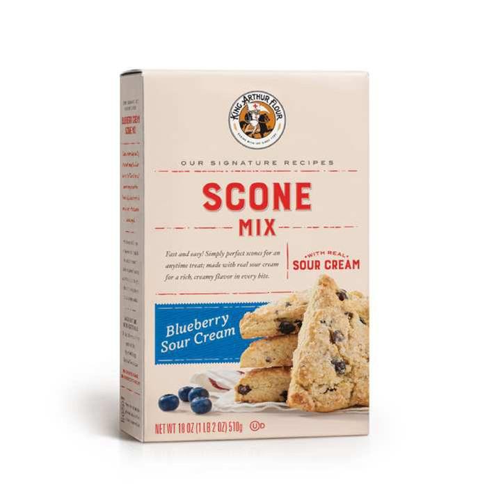 king arthur blueberry scone mix