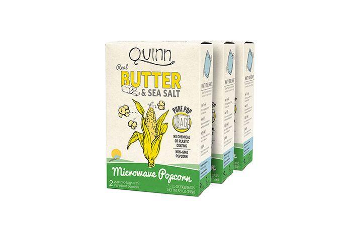Quinn Snacks Microwave Popcorn - Made with Non-GMO Corn