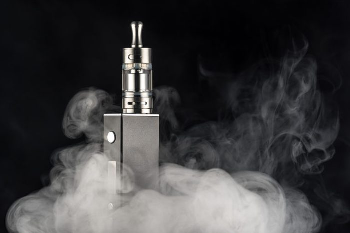 vaping lung cancer causes