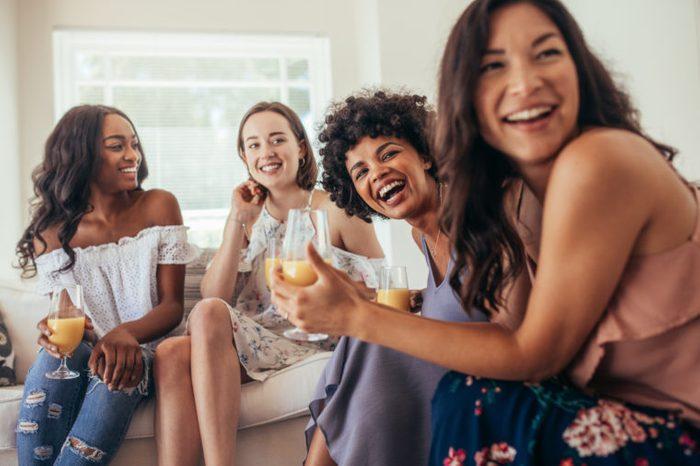 healthy friends diverse