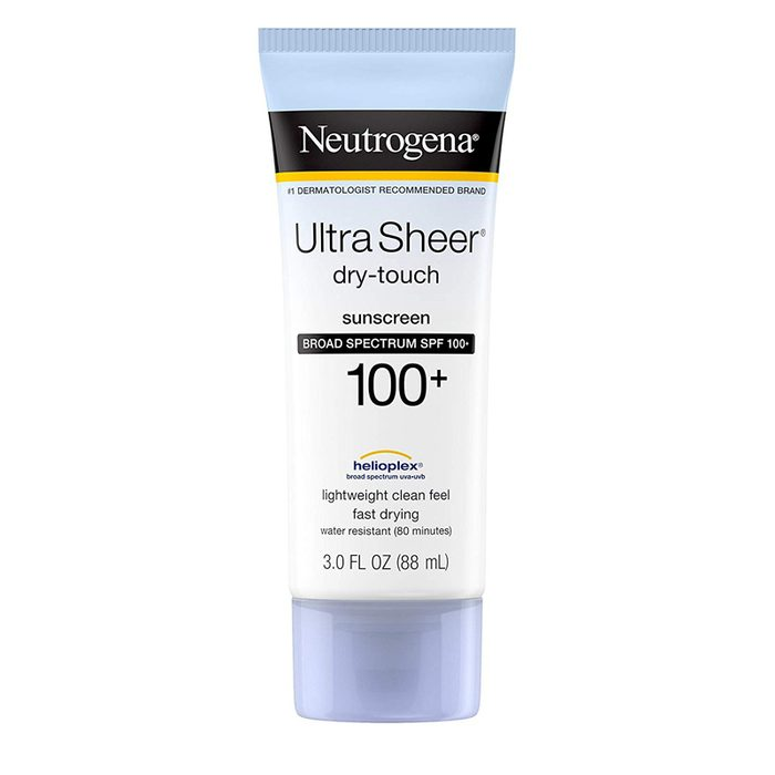 Neutrogena ultra sheer dry touch water resistant sunscreen