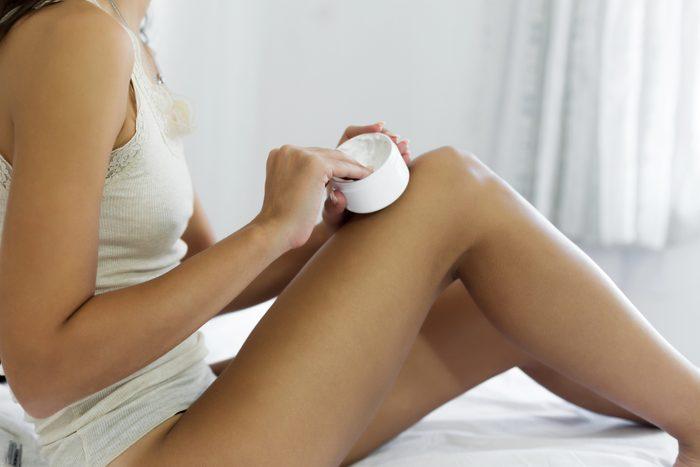 dry or dehydrated skin moisturizing skin