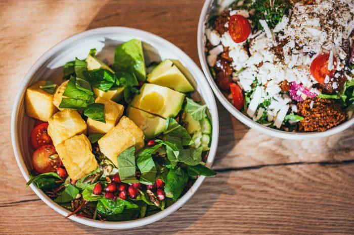 gluten free lunch salads