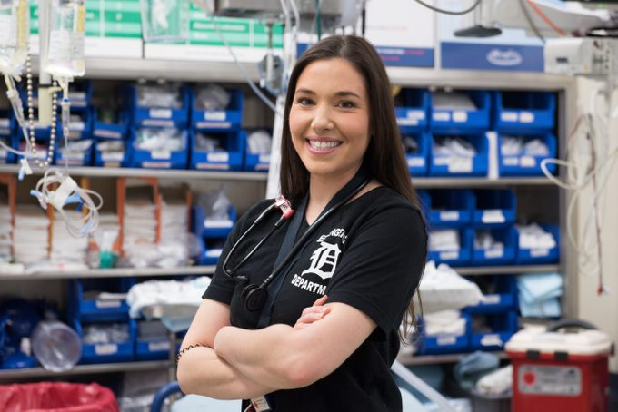 Henry Ford Hospital Clara Ford Award Winner - Danielle Bastien 2018