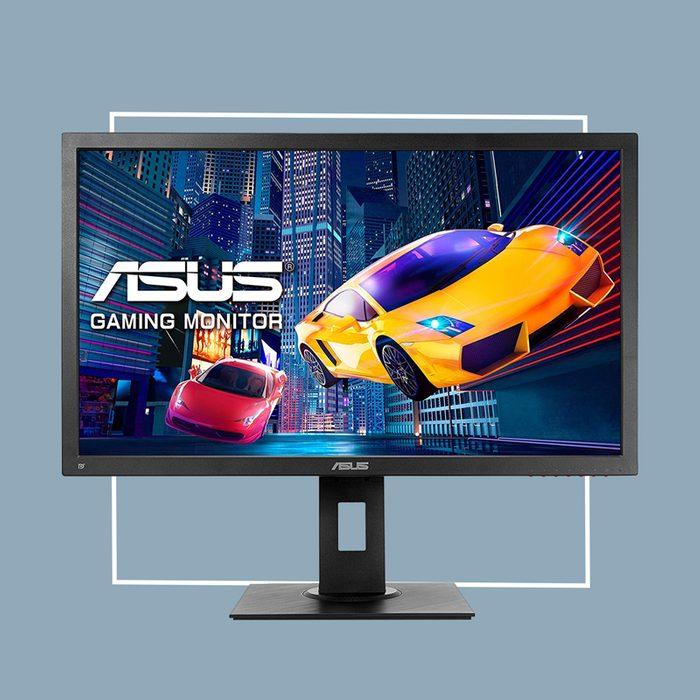 ergonomic external monitor