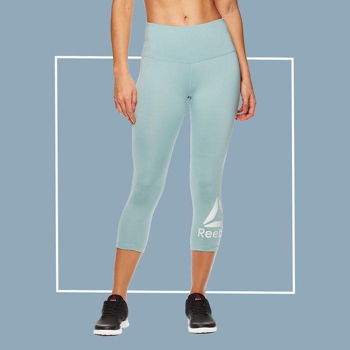 reebok cropped leggings