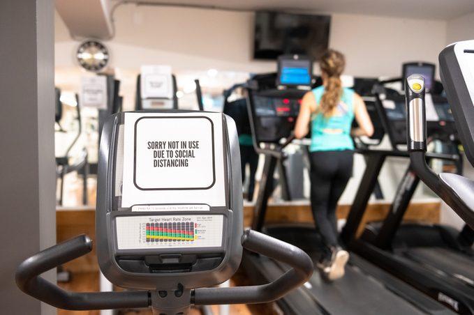 gym social distancing
