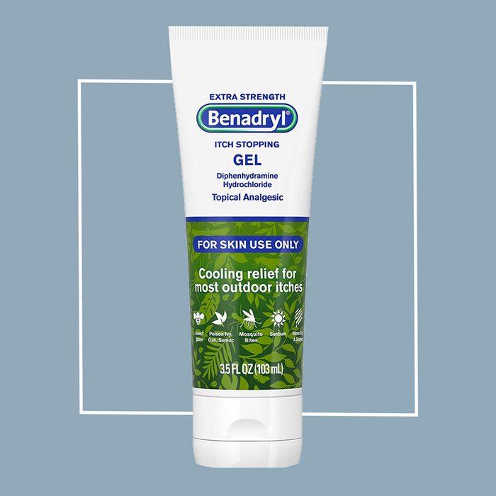benadryl itch stopping gel