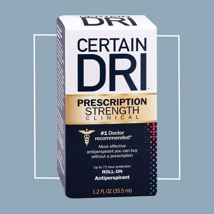 certain dri antiperspirant