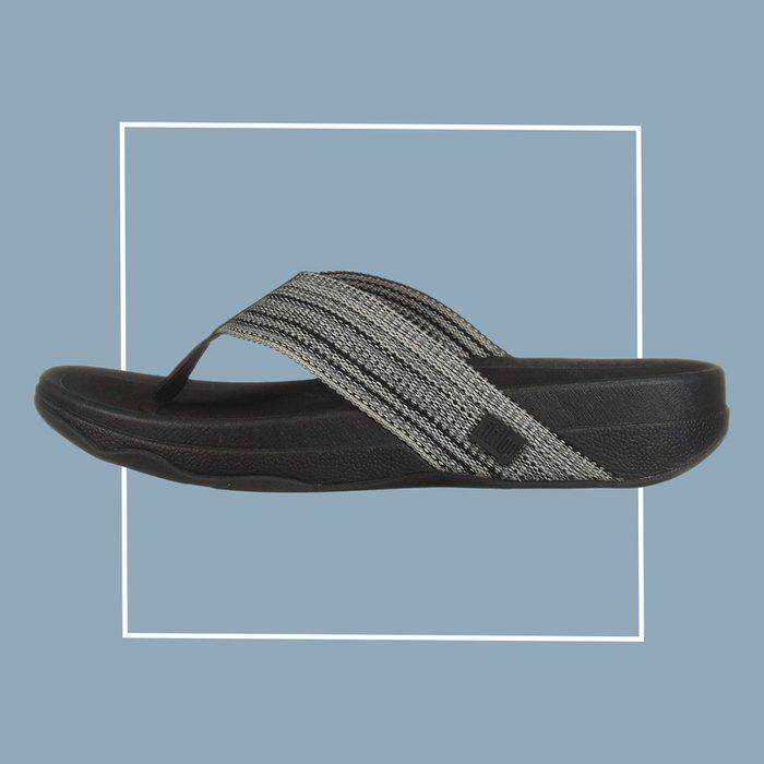 fitflop surfer freshweave flip flops