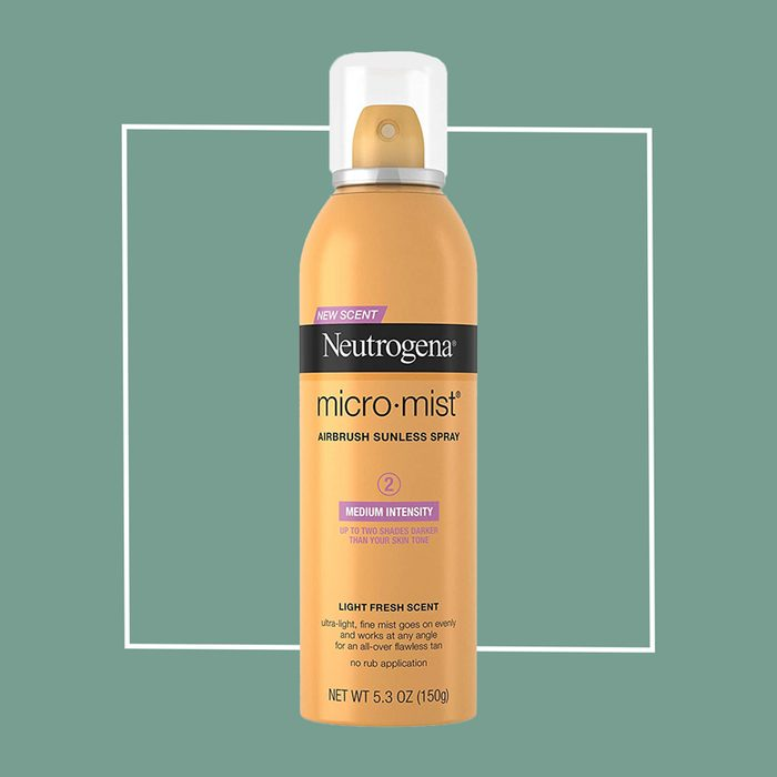 neutrogena micro mist sunless tan spray