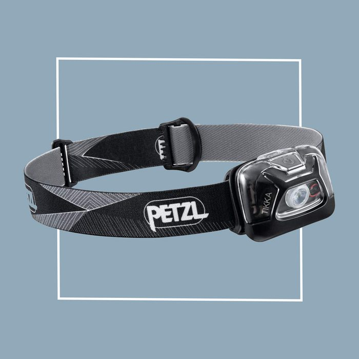 petzl hiking head lamp
