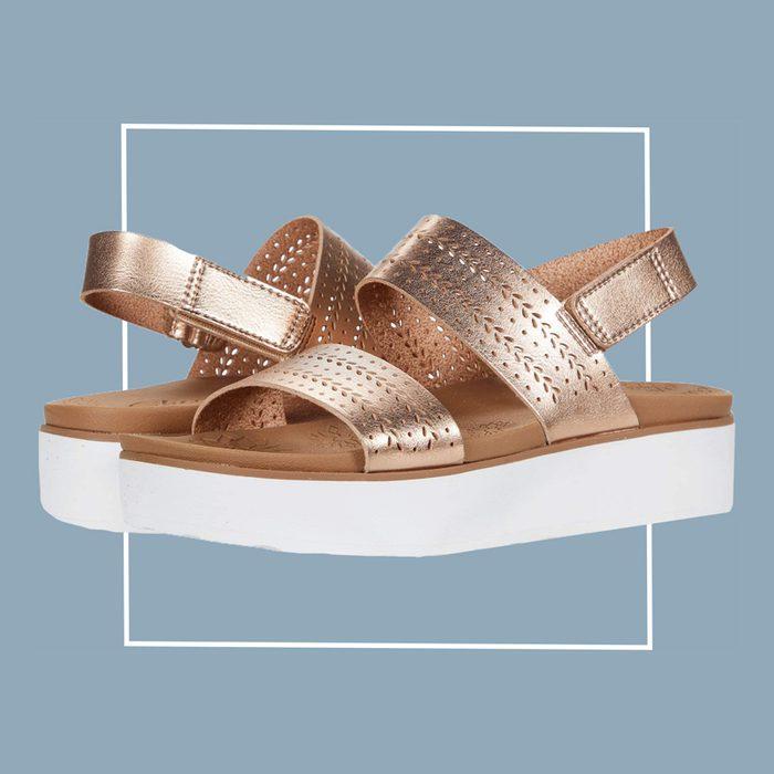 skechers summer rose sandals