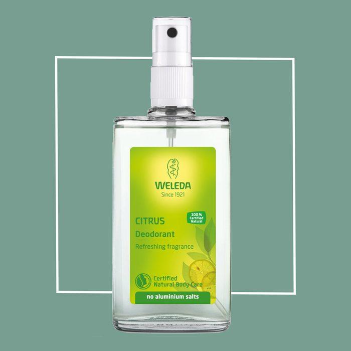 weleda natural citrus spray deodorant