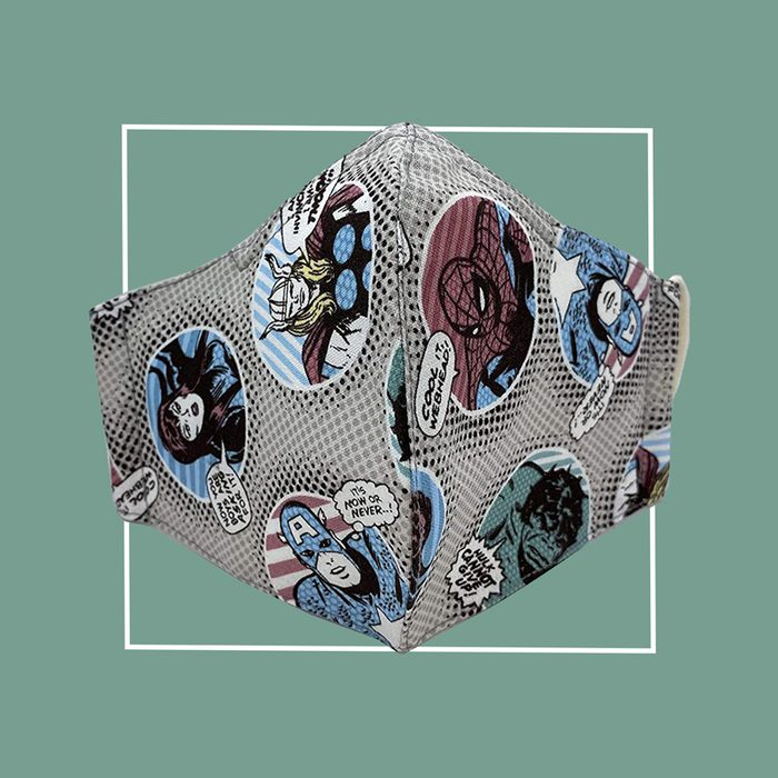 PHLONA Kid-Size Cotton Flannel Mask