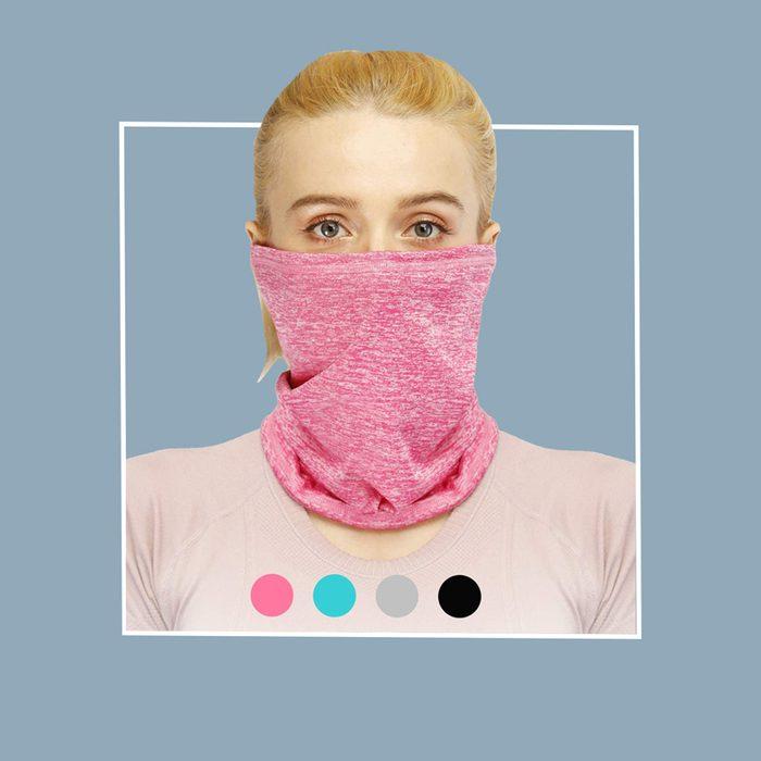 Filtered neck gaiter: SXB