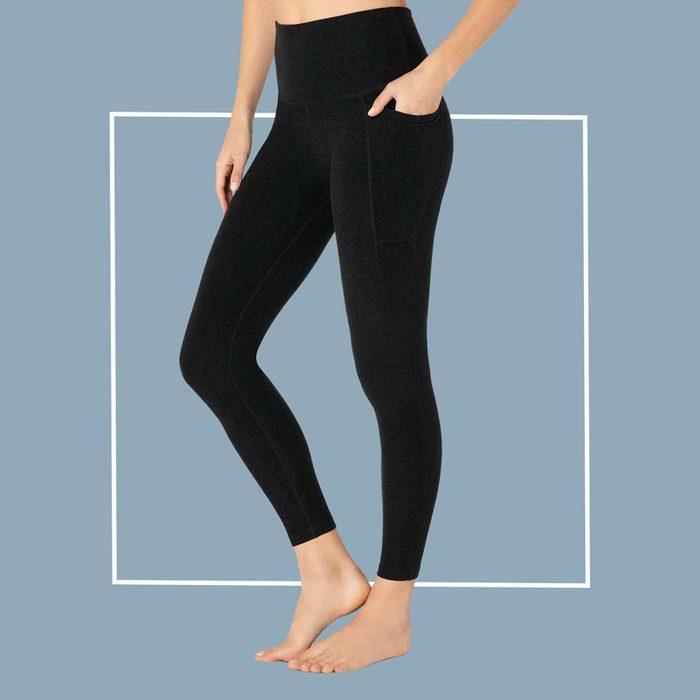 Beyond Yoga Spacedye Out of Pocket High-Waisted Midi Legging