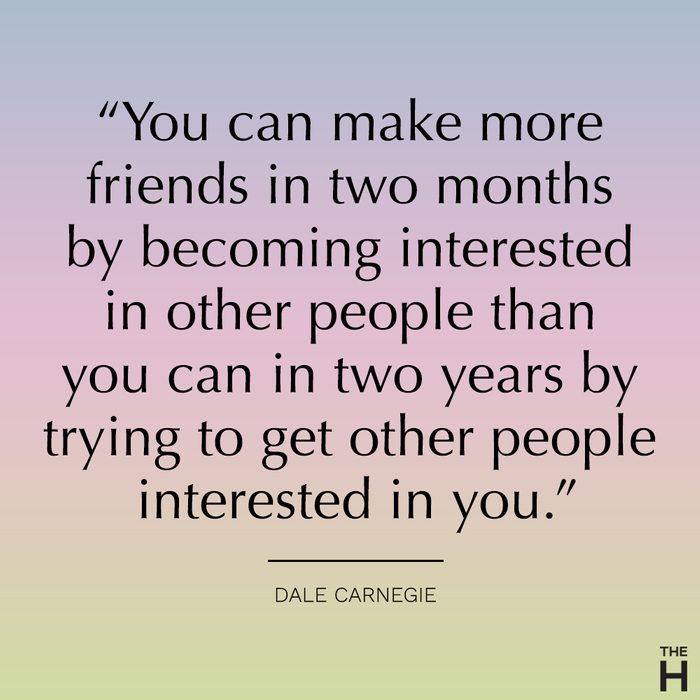 dale carnegie funny frienship quote