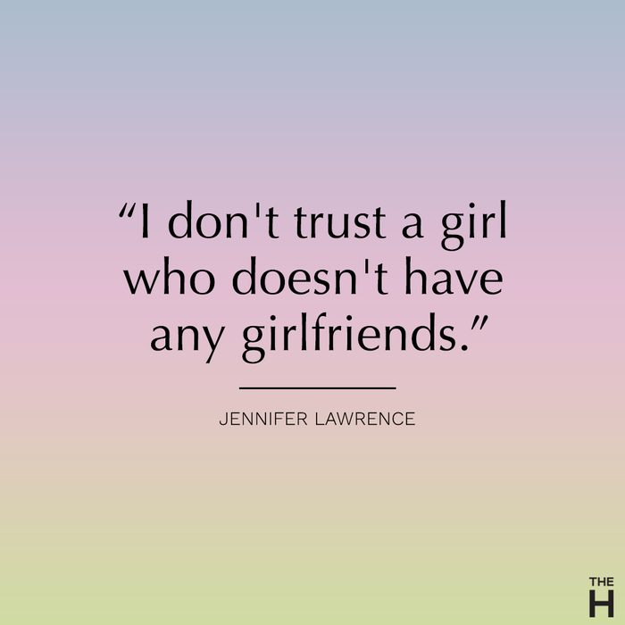 jennifer lawrence funny friendship quote
