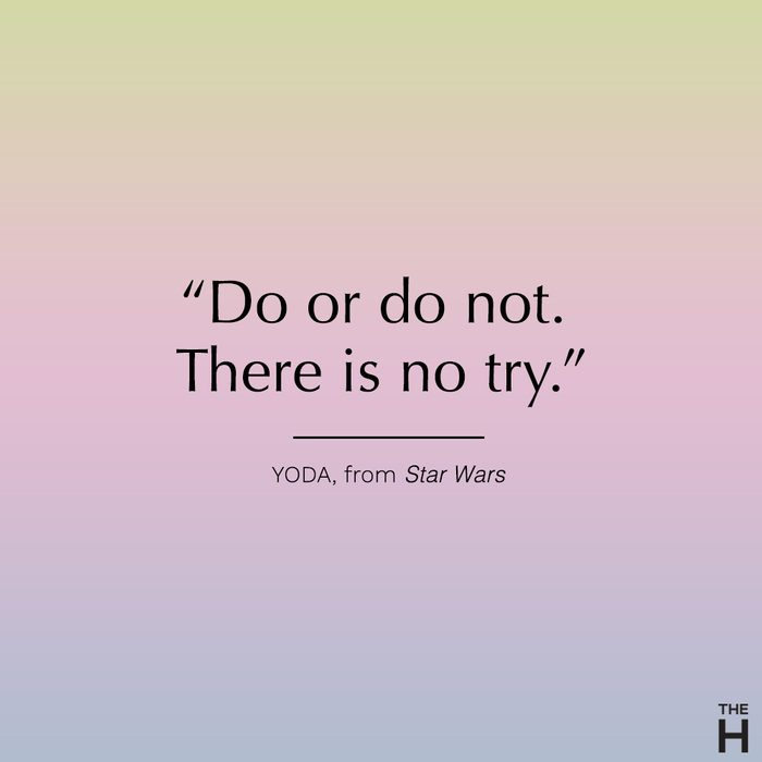 yoda funny motivational quote
