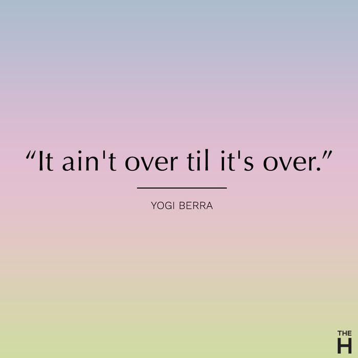 yogi berra funny motivational quote