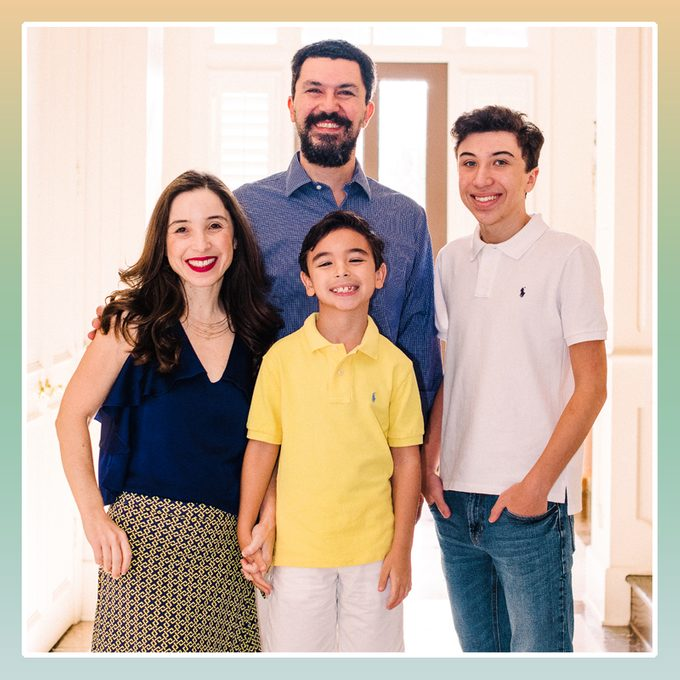 melo family back to school during covid-19