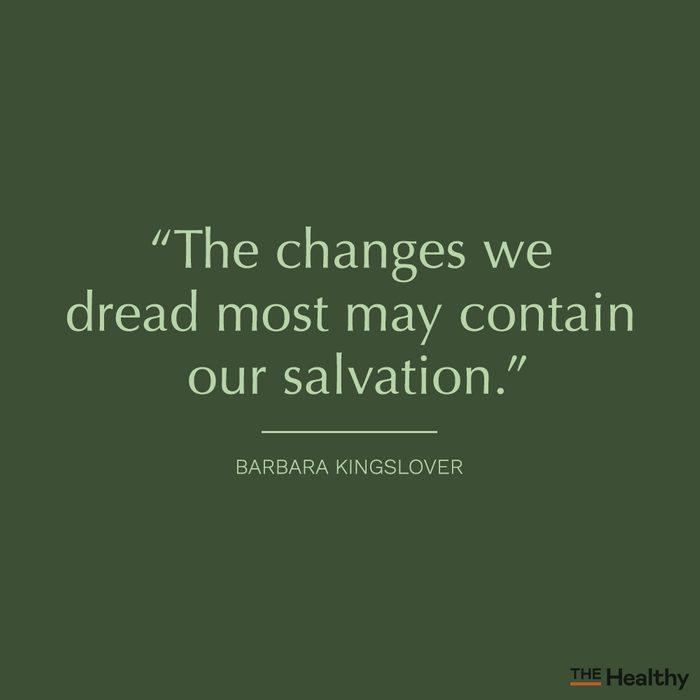 barbara kingslover positive mood boosting quote