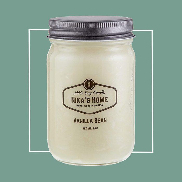 Nika's Home Vanilla Bean Candle