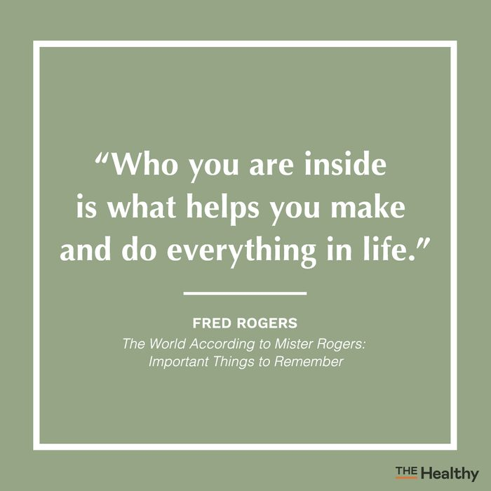 fred rogers positive thinking quote