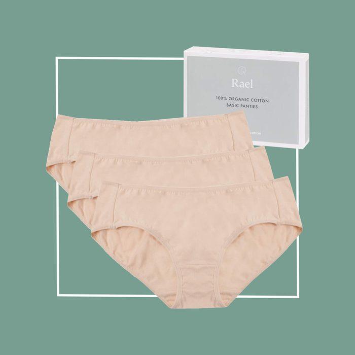 rael organic cotton underwear